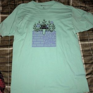 Mint colored Matix skater tee